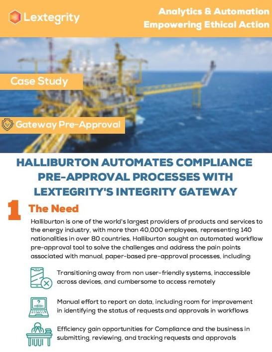 Case Study Halliburton